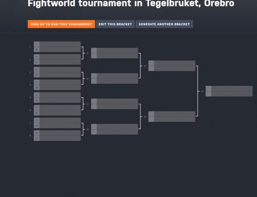 Devblog 19 – Tournament with Tegelbruket in Örebro!
